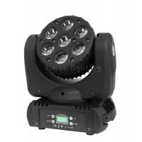 Buy cheap 7x12w RGBW 4in1 DMX/Sound Control Cree LED Beam Moving Head Light product