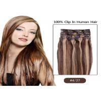 Beauty Dream Girl Light Brown Hair Extensions Clip In Virgin Hair