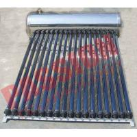Automatic Solar Water Heating System , Black Pipe Solar Water Heater Multi Purpose