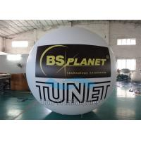 China Inflatable Advertising Printed Helium Balloons , Commercial Custom Printing Balloons on sale