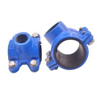Buy cheap Grooved Universal Pipe Coupling Clamp Grooved Fittings Ul Fm Approved Mech product
