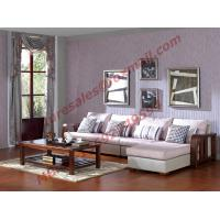 Buy cheap Solid Wooden Frame with Fabric Sectional Sofa in Home Furniture Set product