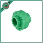 Buy cheap Plastic Adapter PPR Union Polypropylene Random Hexagon Head Code White / Green Color product