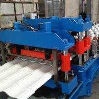 Buy cheap GI / PPGI Wall Panel Roll Forming Machine , RF-ST Roofing Sheet Making Machine product