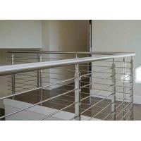 Buy cheap Solid Rod Bar Stainless Steel Railing Hollow Tube Round / Square Shape Post product