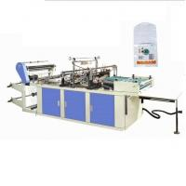 Quality PVC shrink film Arc bottom, curve bottom shrink film bag making machine for sale