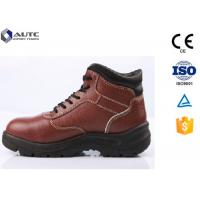Trucker Stylish PPE Safety Shoes For Electrical Workers Customized Acid Resistant