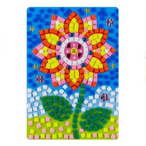 Buy cheap Educational DIY Sunflower Puzzle EVA Adhesive Cartoon Jewel Happy Game Toys product