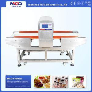 detección material anticorrosión MCD-F500QE de la onda electromagnética del detector de metales de la comida