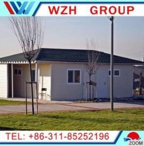China prefab caravan houses /  prefab house for family on sale