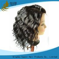 Buy cheap African American Human Hair Wigs , Body Wave Full Lace Wigs With Baby Hair product
