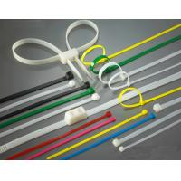 Buy cheap High Load PA66 Material Nylon Zip Ties Self-Locking Type UV Stabilized product