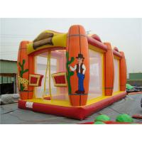 China Glof Games Sports Themed Bounce House , Sturdy Indoor Inflatable Bouncers on sale