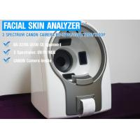 China Comfortable 3D Facial Skin Analyzer Machine With Canon Camera wholesale