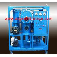 Buy cheap Double Stages Vacuum Transformer Oil Filtration Systems product