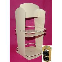 China 2-Layer Stationery Metal Display Racks Powder Coated For Shops / Supermarkets wholesale