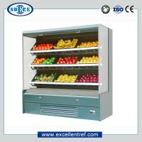 Vegetable&fruit refrigerator showcase , grocery store type, plug-in