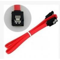 SATA 30 AWG Thin 0.5m/1m  flat SATA 3Gbps Data 7-Pin Cable with Latch