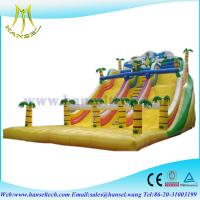 Buy cheap Hansel inflatable water park games,inflatable pool slides,kids trampoline/jumping bed product