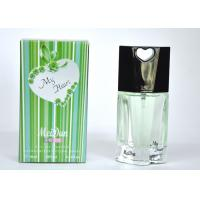 Buy cheap 2047# Green Color My Heart Perfume , Male Spicy Woody Perfumes 10Ml product
