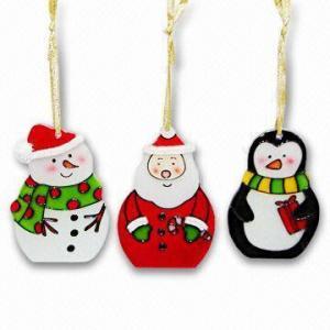 Buy cheap O ornamento de vidro do Natal da pintura, ordens do OEM é bem-vindo product
