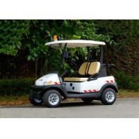 Buy cheap Small 2 Seater Electric Patrol Car For Public Safety Half - Closed Type product