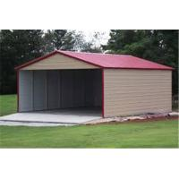 Buy cheap Wholesale outdoor customized size steel garage for sale/three Car Metal Frame garage product