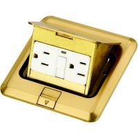 Buy cheap DCT-628/GB Brass Pop up floor box from wholesalers