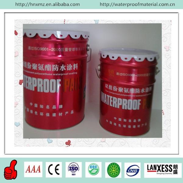 Elastomeric Waterproof Coating : Two component water based polyurethane elastomeric