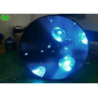 Buy cheap Indoor P 4 round sharp Video Advertising LED Screens with CE UL MBI5124 IC product