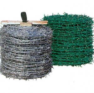 Buy cheap Arame farpado do rolo para cercar para a plantação da indústria ou cercar. product