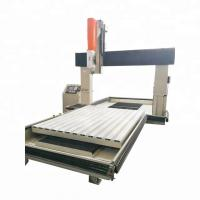 Buy cheap Colorful LCD Screen CNC Vertical Machining Center / CNC Machining Equipment product