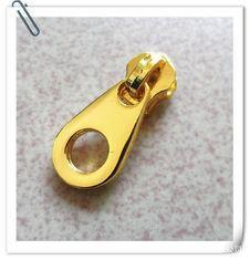 Buy cheap 5 # Zinc Alloy Plating Gold Metal Zinc Alloy Zipper Slider  For Garment product