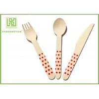 Buy cheap Premium Birch Disposable Eco Friendly Wooden Cutlery Fork Knife Spoon product