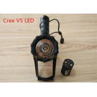 Buy cheap Powerful Battery Powered Handheld Spotlight 120 Degree Adjustable Long Beam Distance product