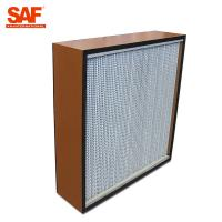 Buy cheap Deap Pleated Cleanroom Hepa Filter With Paper Or Aluminum Foil Separater product
