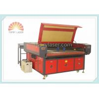 Buy cheap Label Logo Trademark Camera Laser Cutting Machine with Auto Feeding Device (JM1610T-AT-CCD) product