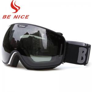Anti Fog Scratch Mirrored Ski Goggles TPU Frame With CE , FDA Certificate