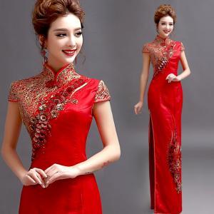 Buy cheap Robe de mariage de sirène de style chinois product