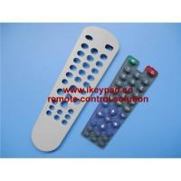 Buy cheap Remote control conductive silicone rubber keypad product