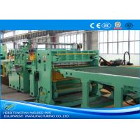 Blue Colour Cut To Length Line 100m / Min Cutting Speed High Efficiency