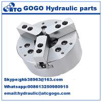 China 3 Jaw closed center Hydraulic control parts power lathe chuck for CNC Lathe Machine on sale