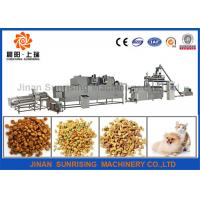 Buy cheap Fully Automatic Pet Food Processing Line , PLC Control Pet Food Processing Equipment from wholesalers