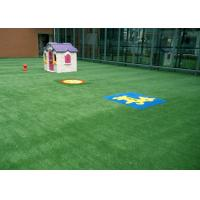 Buy cheap Kids Friendly Spring Artificial Grass For Garden 25mm M Shape Durable 3 Tone product