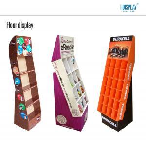 Buy cheap Présentoir debout de carton de plancher de FSDU pour la batterie product