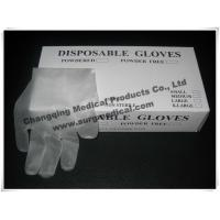 Buy cheap EN455 Latex Free Synthetic Vinyl Gloves ,  PVC Medical Surgical Gloves  Fits Either Hands product
