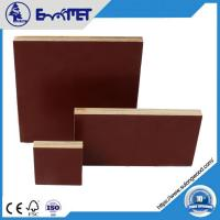 Quality 5 x 10 china hardwood core construction shuttering phenolic wbp film faced plywood 18mm for sale