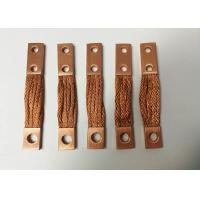 Buy cheap Braided Flexible Copper Connector Custom Tinned Copper Busbar CE ISO CCC product