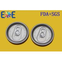 Buy cheap 52mm Aluminum Easy Open Soda Can Lid With Safe Rim , Beer Can Lid product