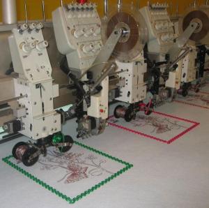 Buy cheap El arrollar de BL-CYX-C12+JPP12, lentejuela y máquina plana del bordado product
